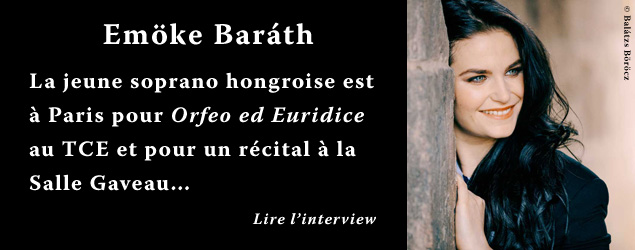 Interview de Emoke Barath, soprano