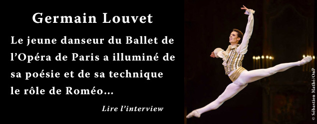Interview de Germain Louvet, danseur du Ballet de l'Opéra national de Paris
