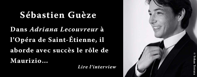 Interview de Sébastien Guèze, ténor