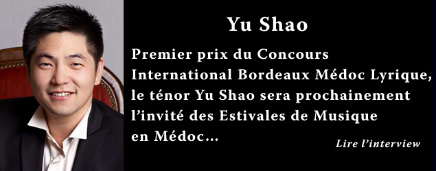 Interview de Yu Shao, ténor