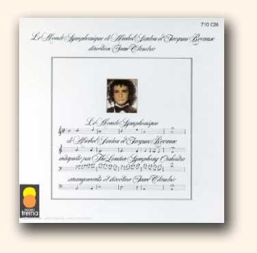 CD <i>Le Monde Symphonique de Michel Sardou & Jacques Revaux</i> interprété par le London Symphony Orchestra dirigé par Jean Claudric.