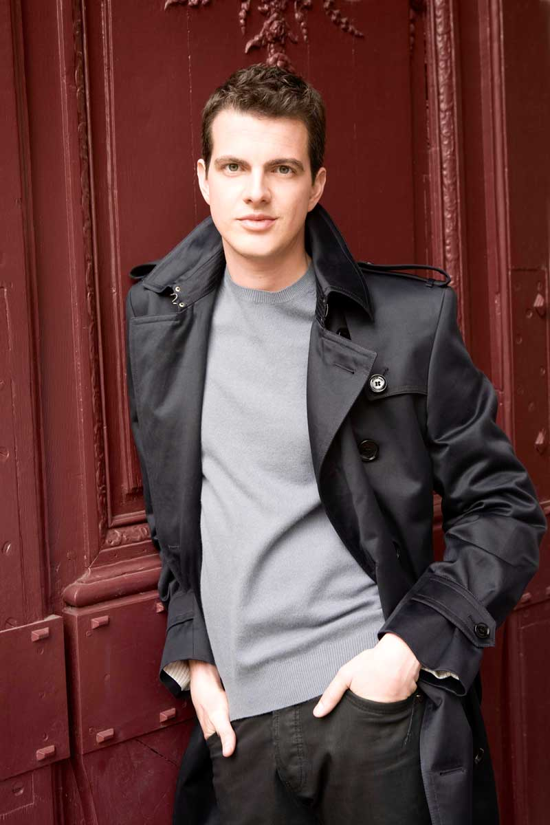 Philippe Jaroussky.  © Simon Fowler licensed to Virgin Classics