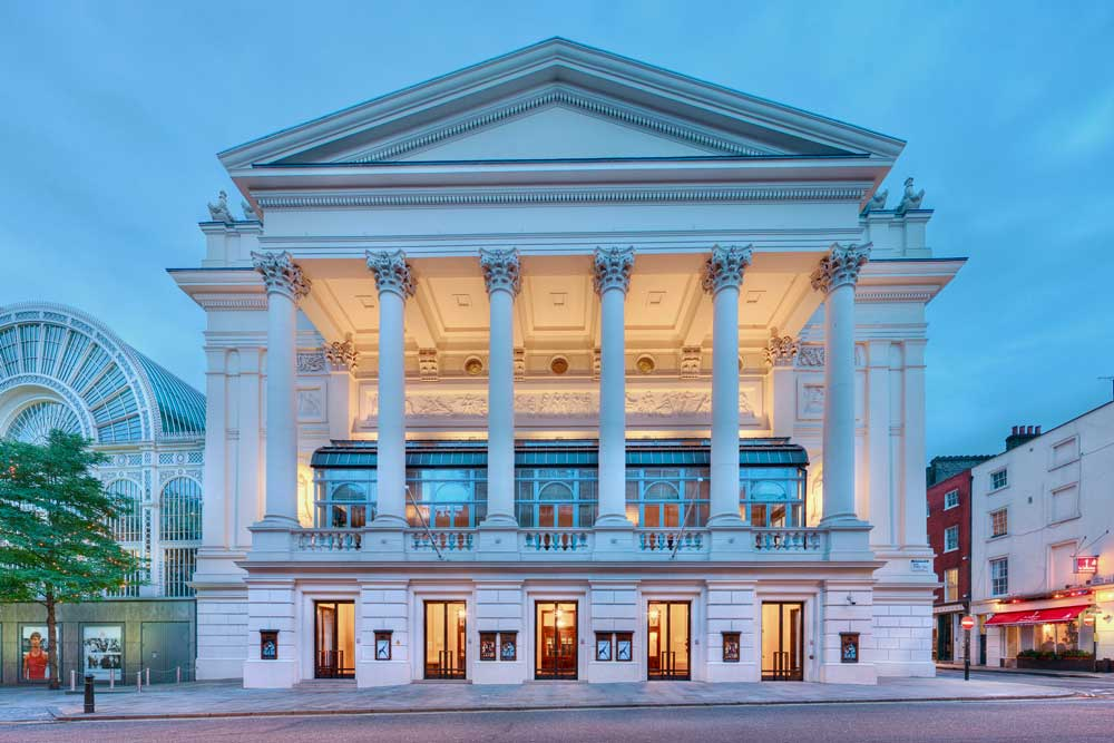 Le Royal Opera House de Londres.  © ROH
