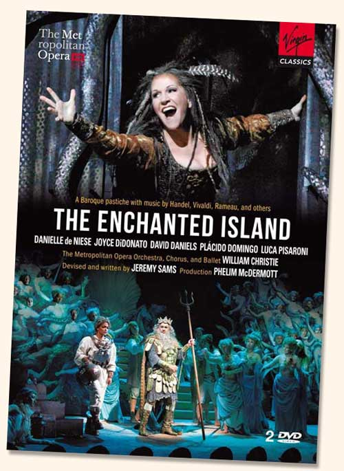 <i>The Enchanted Island</i> est disponible en DVD chez Virgin Classics.