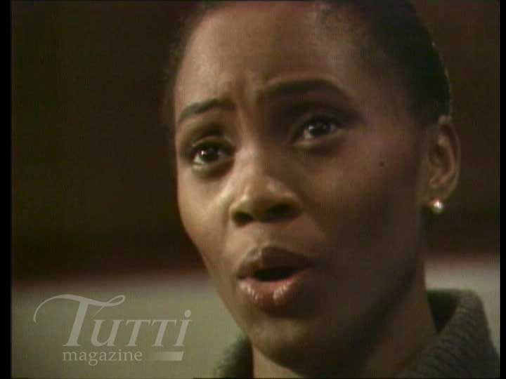 Barbara Hendricks dans le documentaire <i>Barbara Hendricks - A Portrait</i>.
