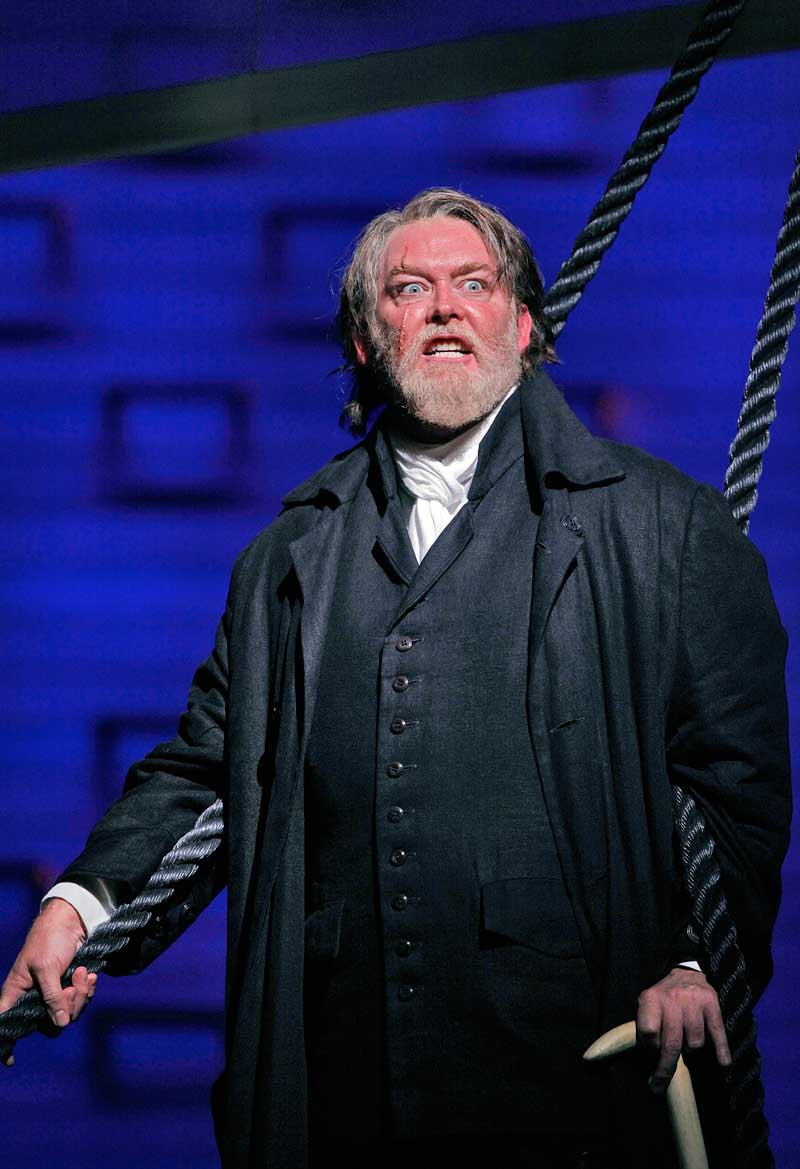 Jay Hunter Morris (Capitaine Ahab).  © Cory Weaver