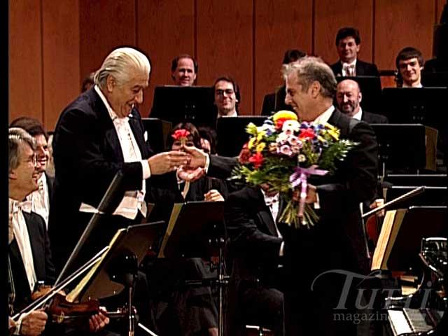 """Los """"mas cañeros"""" conciertos para piano de Beethoven Celibidache-Barenboim-Flowers"""