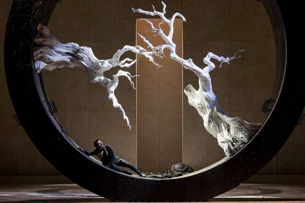 Charles Castronovo chante le rôle-titre du <i>Faust</i> de Gounod à Turin. © Ramella & Giannese/Teatro Regio Torino