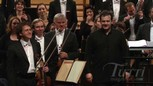 Andris Nelsons applaudi à Lucerne