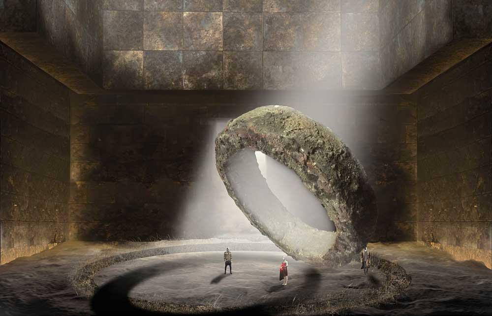 Maquette de Stefano Poda pour <i>Faust</i> de Gounod. © Stefano Poda