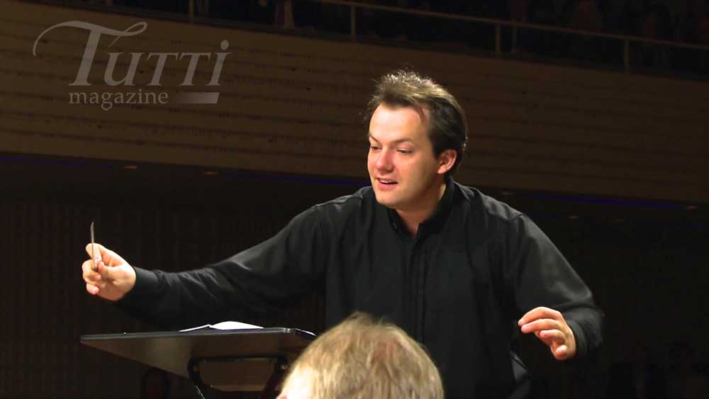 Andris Nelsons dirige le Royal Concertgebouw Orchestra.