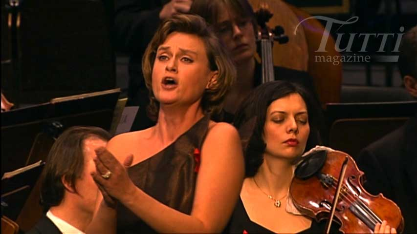 Vesselina Kasarova interprète un air de <i>Werther</i>.