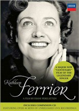 Jaquette de : Kathleen Ferrier - Documentaire