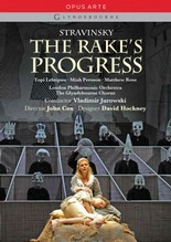 Jaquette de : The Rake's Progress (Jurowski, Glyndebourne 2010)