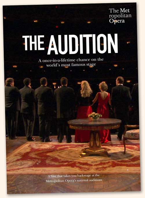 Le DVD <i>The Audition</i> n'est pas distribué en France, mais il est possible de le trouver sur Internet…