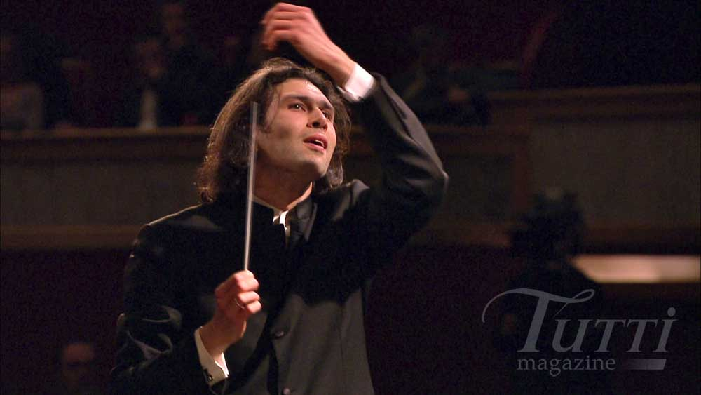 Vladimir Jurowski dirige l'Orchestra of the Age of Enlightenment le 4 février 2010.