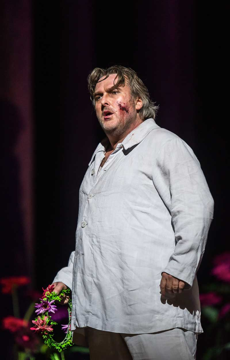Simon O'Neill (Parsifal).  © ROH/Clive Barda