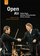 Jaquette de : Open Air - A Night with the Berliner Philharmoniker